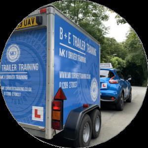 B+E Trailer Training based in Redruth, Cornwall